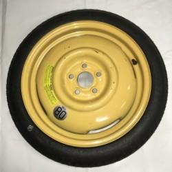 """Dojezdové kolo použité - 16"""" - Subaru - 4×16 - 5×100×56 -ET 50"""