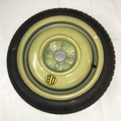 """Dojezdové kolo použité - 14"""" - Toyota - 4×14 - 4×100×54 - ET 45"""