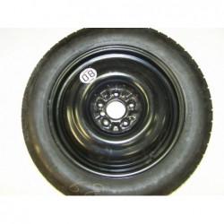 """Dojezdové kolo použité -17"""" - Nissan-4×17 ○ 5×114,3×66 ○ ET 45"""