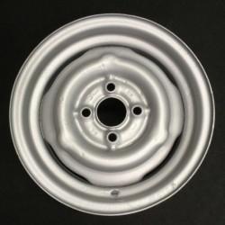 """Plechový použitý disk 13"""" - Vlek - 5×13 ○ 4×100×57 ○ ET 22"""