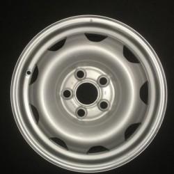 """Plechový použitý disk- 16"""" - VW - 6,5×16 ○ 5×120×65,1 ○ ET 51"""