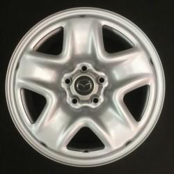 """Plechový použitý disk 17"""" - Mazda - 7×17 ○ 5×114,3×67 ○ ET 50"""