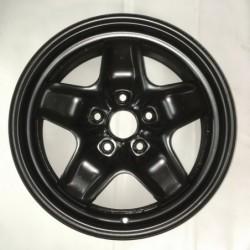 """Plechový strukturovaný použitý disk 16"""" - Škoda-Audi-Vw -Seat - 6,5×16 ○ 5×112×57 ○ ET 50"""