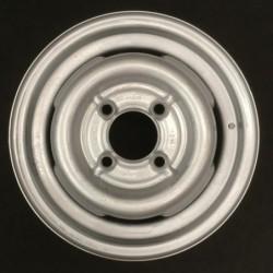 """Plechový použitý disk- 15"""" - Škoda- 4,5×15 ○ 4×130×85 ○ ET 38"""