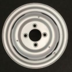 """Plechový použitý disk- 15"""" - Škoda- 4×15 ○ 4×130×85 ○ ET 20"""