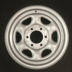 """Plechový použitý disk 16"""" - Nissan - 7×16 ○ 6×139,7×100 ○ ET 38"""