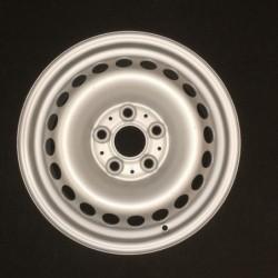 """Plechový použitý disk- 16"""" - VW ○ 6,5×16 ○ 5×120×65,1 ○ ET 52"""