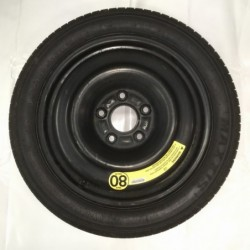 """Dojezdové kolo použité -17"""" -Fiat - Chrysler- 4×17 ○ 5×127×71,5 ○ ET 48"""