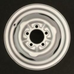 """Plechový použitý disk-13"""" - """"Moskvič"""" - 4×13 ○ 5×114,3×81 ○ ET 35"""