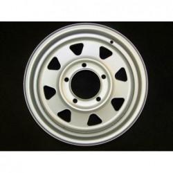 """Plechový použitý disk 15"""" - Suzuki, Kia - 6×15 ○ 5×139,7×108 ○ ET 25"""