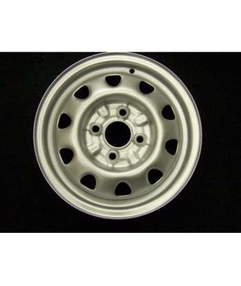 """Plechový použitý disk- 13"""" - Škoda - 4,5×13 ○ 4×100×57 ○ ET 38"""
