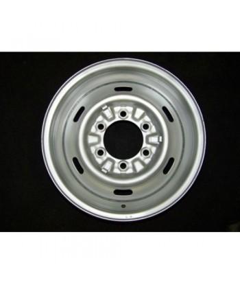 """Plechový použitý disk-15"""" - Hyundai - 5,5×15 ○ 6×139,7×106,5 ○ ET 22"""
