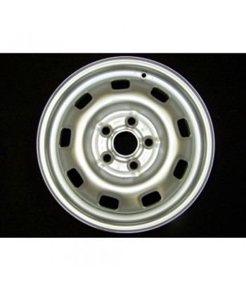 """Plechový použitý disk-15"""" - VW - 6×15 ○ 5×112×57 ○ ET 44"""