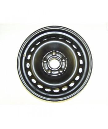 """Plechový použitý disk-15"""" - VW - 6×15 ○ 5×112×57 ○ ET 37"""
