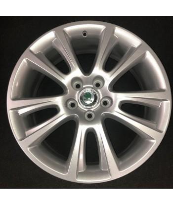 """Hliníkový nový disk 18"""" - Škoda- 7,5×18- 5×112×57 - ET 51"""