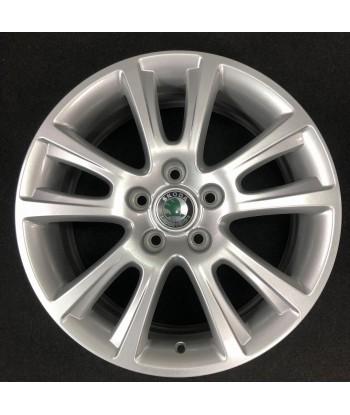 """Hliníkový nový disk 17"""" - Škoda- 7×17 - 5×112×57 - ET 54"""