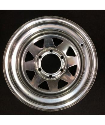"""Plechový použitý disk 15"""" - Nissan, Hyundai - 8×15 ○ 6×139,7×110 ○ ET -20"""