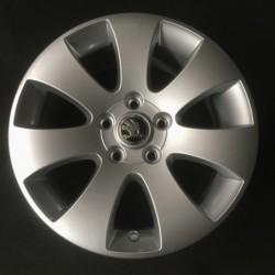 """Hliníkový nový disk 16""""- Škoda - 7×16○ 5×112×57 ○ ET 45"""