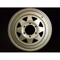 """Plechový použitý disk 15"""" - Nissan, Hyundai - 6×15 ○ 6×139,7×108 ○ ET 5"""