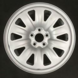 """Plechový hybridní použitý disk 15"""" - Škoda-Seat-VW - 6×15 - 5×100×57 - ET 38"""