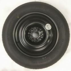 """Dojezdové kolo použité -17"""" - Nissan-4×17 ○ 5×114,3×66 ○ ET 30"""