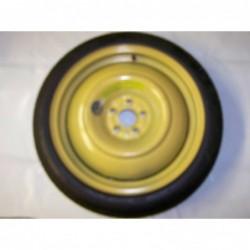 """Dojezdové kolo použité -17"""" - Subaru - 4×17 - 5×100×56 - ET 30"""