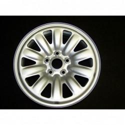"""Plechový hybridní použitý disk 16"""" - Škoda-Audi-Seat-VW - 6×16 - 5×112×57 - ET 48"""