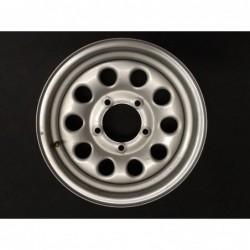 """Plechový použitý disk 15"""" - Suzuki - 5,5×15 - 5×139,7×108,4 - ET 5"""